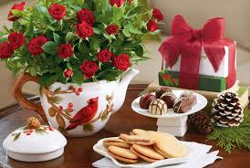 holidays cookies chocolate candy bouquet flower roses table new