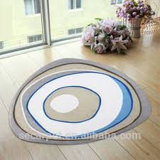 Shaped Area Rugs Polyester Digital Printed Irregular Shaped Area Rug Buy Area Rug