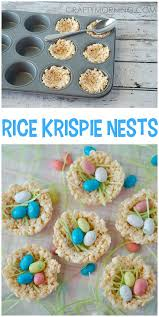 Easter Egg Decorating Rice by Rice Krispie Nests Easter Treats Nest Easter And Rice