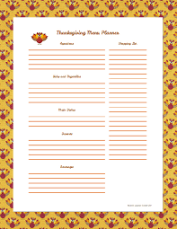 organize your menu planner s crafty