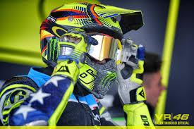 valentino rossi motocross helmet motoranch saturday training valentino rossi blog