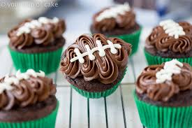 football cakes easy football cupcakes with your cup of cake
