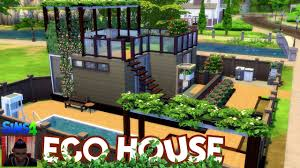 the sims 4 house building eco house youtube