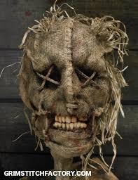 Scarecrow Mask 16 Best Masks Burlap U0026 Scarecrow Images On Pinterest Halloween