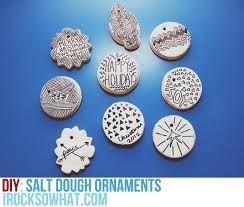 irocksowhat diy salt dough ornaments