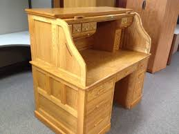 Oak Roll Top Secretary Desk by The Flexibility Of Roll Top Computer Desk Signin Works