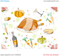 thanksgiving meal clipart thanksgiving background clipart 1969196
