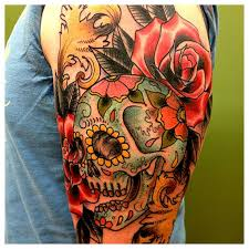 best 25 sugar skull sleeve ideas on pinterest half sleeve