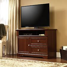 Cherry Wood Living Room Furniture Sauder Palladia Select Cherry Storage Entertainment Center 411626