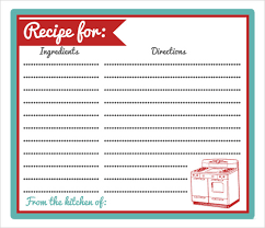 printable recipe cards template recipe card template skiro pk i pro tk