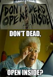 Computer Grandma Meme - the walking dead grandma computer funny funny pinterest funny