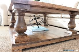 Balustrade Coffee Table It S A Grandville Diy Balustrade Coffee Table