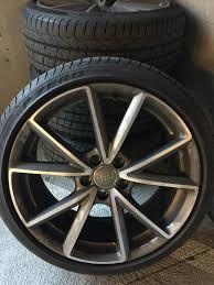 audi titanium wheels for sale 2016 audi s3 black optics 19 sport 5 v spoke titanium