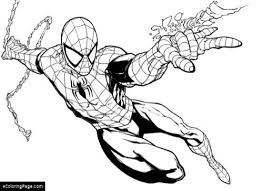 spiderman coloring pages ecoloringpage printable coloring pages