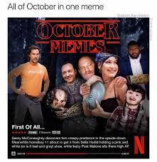 Hd Meme - dopl3r com memes all of october in one meme adam the creator