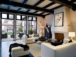 Exposed Beams For Your Living Room Decor  Living Room Ideas - Colonial living room design