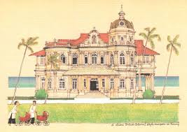 colonial architecture 8 postcards on and colonial architecture in malaya during