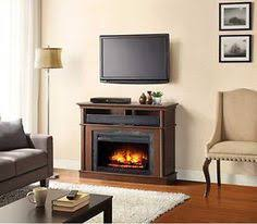 Electric Fireplace Heater Tv Stand by Drew Electric Fireplace Media Cabinet In Autumn Birch 26mm9405