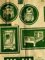 Dollhouse Miniature Furniture Free Plans by Free Scroll Saw Fretwork Patterns Clocks Shelves Cabinets