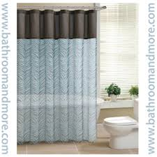 bathrooms that are teal and brown cool teenage girl rooms 2015 teal and brown sheer zebra print fabric shower curtain bathroom