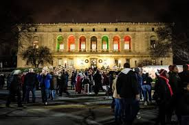 christmas light shows in michigan here are the top 9 christmas towns in michigan