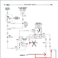 94 dodge ram headlight wiring diagram 94 dodge ram fuse diagram