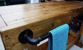 stylish homemade bar table with diy rustic bar home furnishings