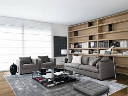 Sofa  Modern Family Room Philadelphia By Usona - Modern family rooms