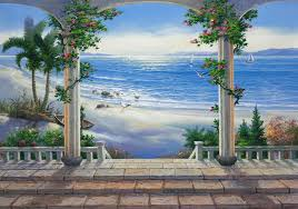 ocean view wall mural wallpaper ocean view wall mural