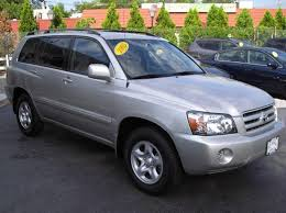 4 cylinder toyota highlander toyota highlander 2 4 l 4 cylinder petrol 2005 used for sale