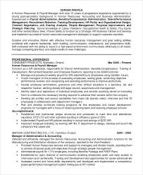 Sample Resume For Experienced Hr Executive by 61 Executive Resume Templates Free U0026 Premium Templates