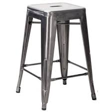 White Metal Bar Stool Industrial Bar Stools You U0027ll Love Wayfair