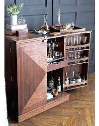 Small Bar Cabinet Furniture Small Bar Cabinet With Wine Fridge Modern Mini Furniture For Home