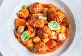 ricardo cuisine mijoteuse recette légumes et boulettes de saucisse à la mijoteuse glouton