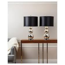 Mercury Glass Table Lamp Abbyson Living Dara Mercury Glass Table Lamp Set Of 2 Target