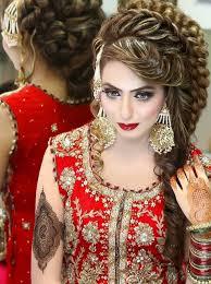 hair styles pakistan clever design pakistani wedding hair style kheop