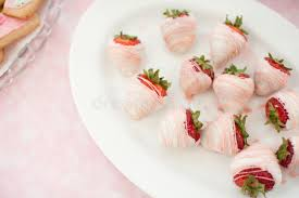 where to buy white chocolate covered strawberries white chocolate covered strawberries stock image image of baby