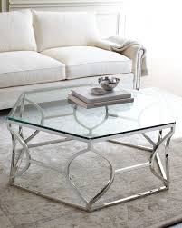 Modern Living Room Tables Living Room The Hammary Silver Metal Round Nesting Coffee Tables