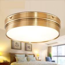 Bedroom Ceiling Light Fixtures Aliexpress Com Buy Kitchen Vintage Copper Ceiling Lamp Light