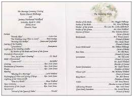 program for wedding ceremony template 27 images of traditional wedding ceremony script template