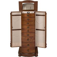 Jewelry Armoire Clearance Armoire Jewelry Cabinet Box Storage Chest Stand Organizer Necklace