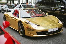 chrome gold ferrari passion investing u0027 in classic cars is gaining speed