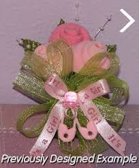 Baby Sock Corsage Baby Shower Corsages Baby Shower Corsages