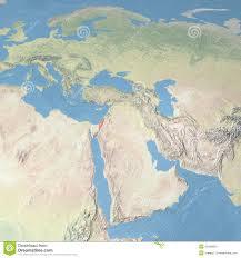 Map Israel World Map Israel Stock Illustration Image 42580824