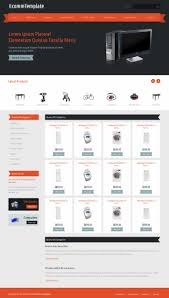 templates for website free download in php template ecommerce with responsive design