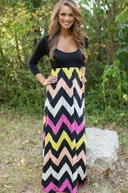 chevron maxi dress black color block chevron print maxi dress casual dresses women