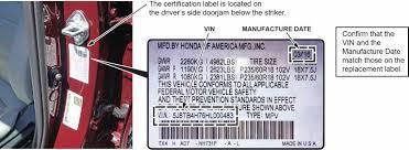 kf3 u2013 noncompliance recall 2017 cr v certification label u2013 2017