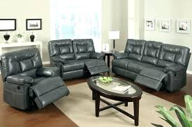 Gray Leather Sofa Leather Sofa And Loveseat Recliner Sa Sa Sa Furniture