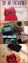 how to make a non toxic reusable air freshener to keep your car
