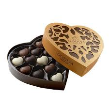 heart chocolate godiva coeur grand chocolates 14 pcs godiva uk